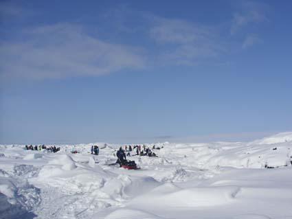 流氷ダイビング2004