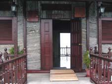 コテージ入口