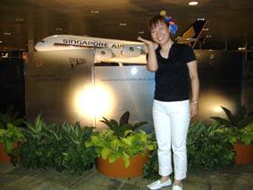 シンガポール空港機