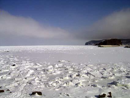 流氷ダイブ2003